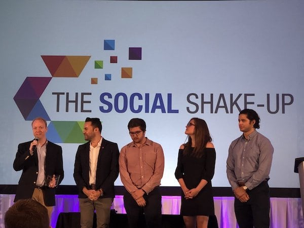 Southwest Airlines received the Customer Service Team of the Year Award at Social Shake-Up Movers & Shakers Awards luncheon.