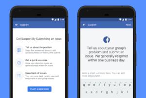 facebook groups screenshots