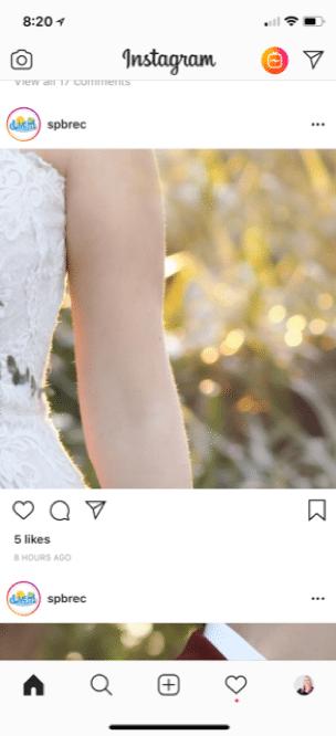 side of wedding bodice instagram