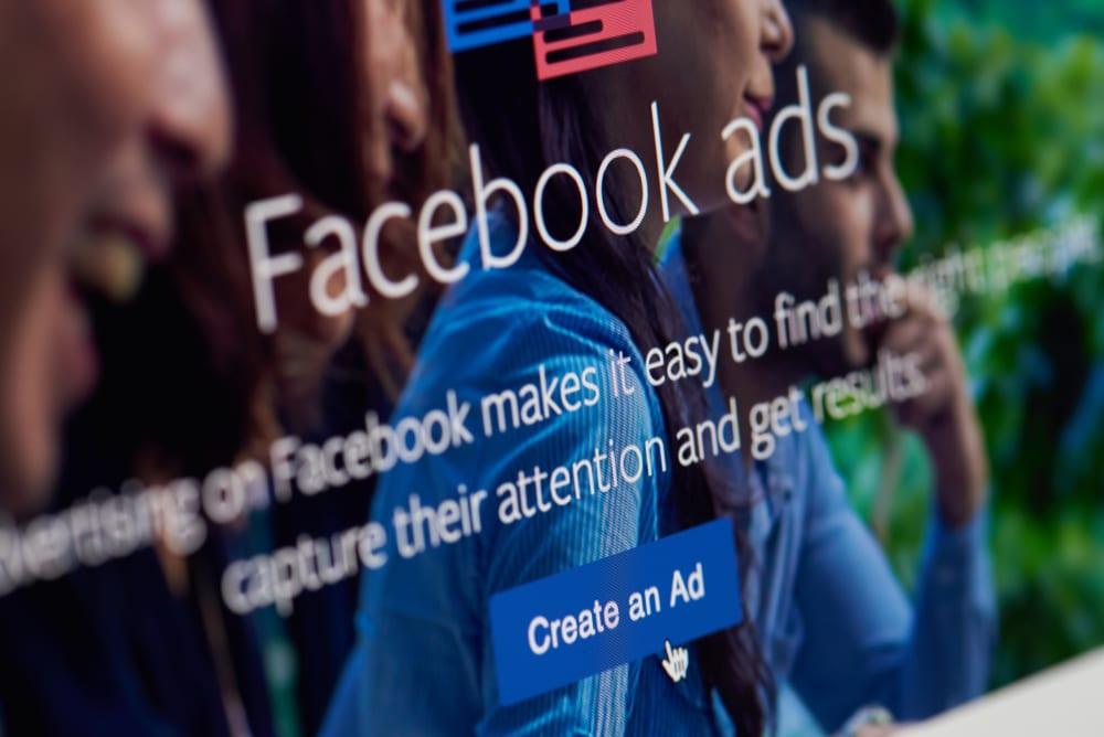 facebook ad landing page
