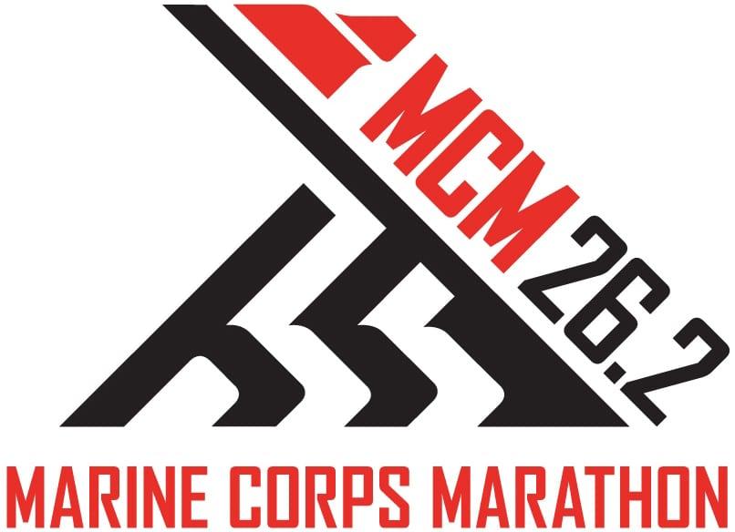 Marine Corps Marathon logo