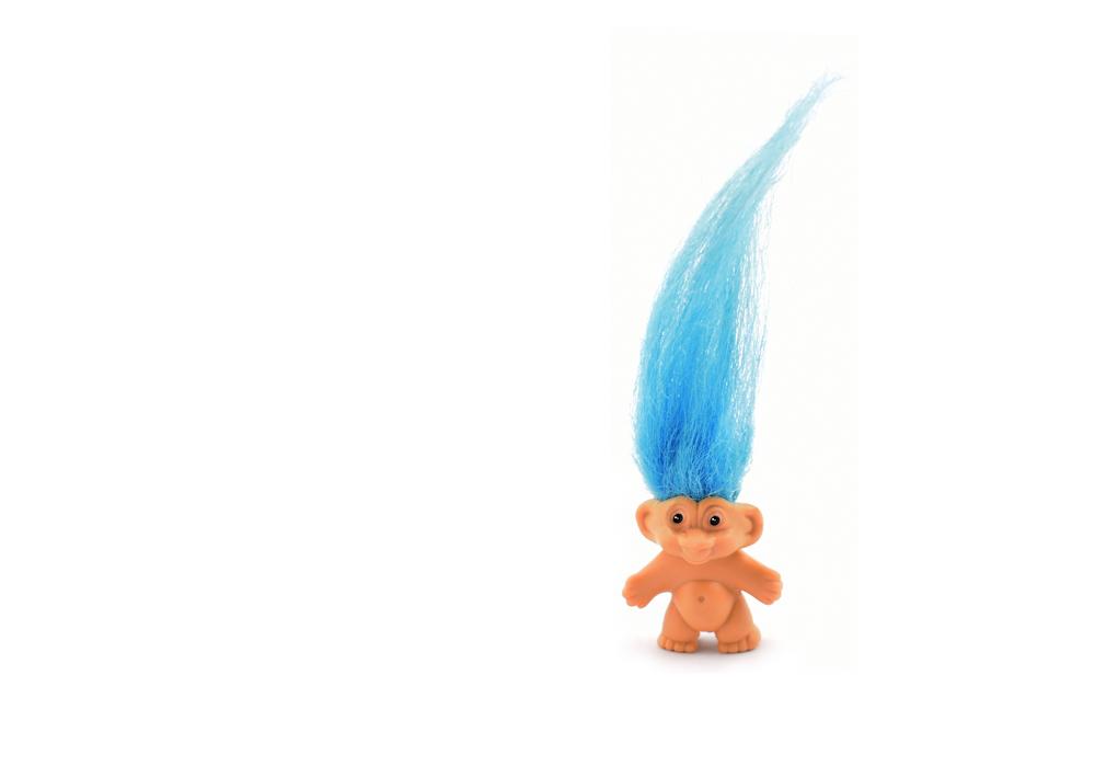 cute troll doll
