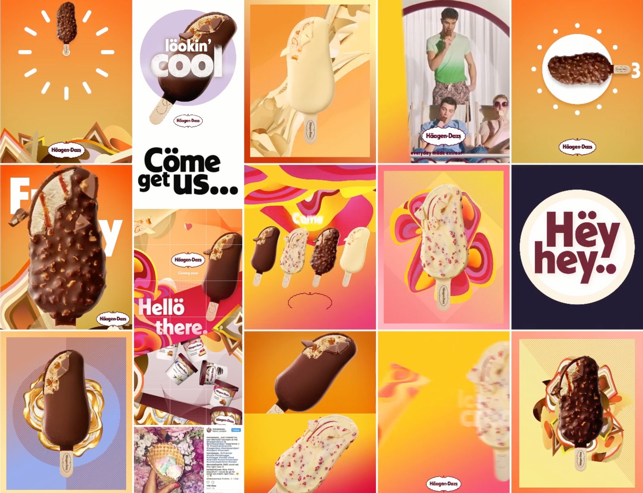 haagen daz instagram feed