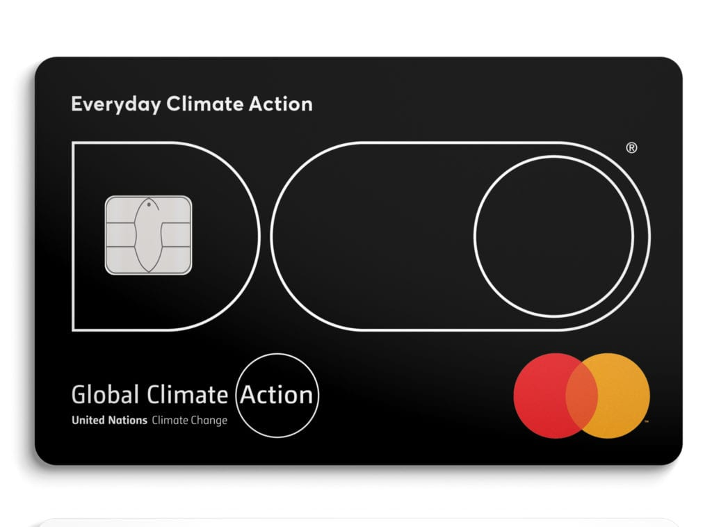 mastercard with doconomy, global climate action app