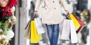 shopping bags, holiday season