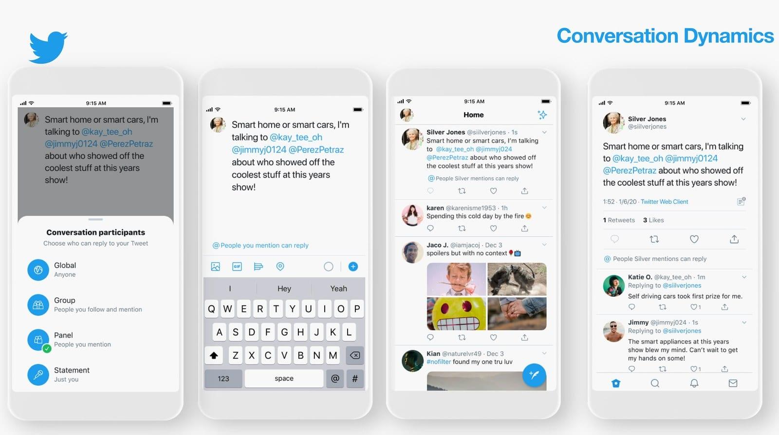 twitter conversation options