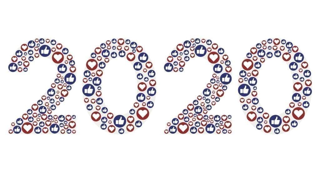 2020 made of social media likes