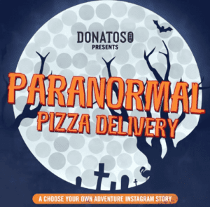 Paranormal Pizza Delivery: A Halloween Interactive Instagram Story