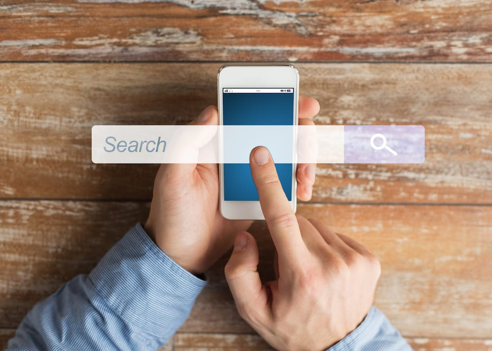 social media search bar